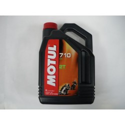 HUILE MOTUL 2T 100% SYNTHESE 4L