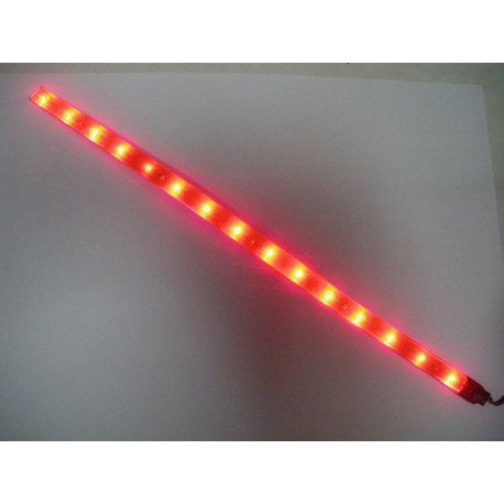 NEON PLAT REPLAY LEDS ROUGE 40CM