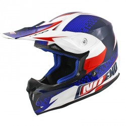CASQUE CROSS NOEND DEFCON BLEU