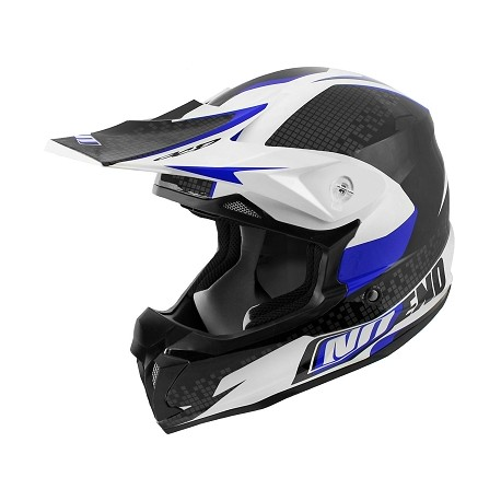 CASQUE CROSS NOEND DEFCON BANC/BLEU