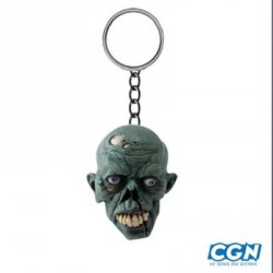 PORTE CLE LETHAL THREAT ZOMBIE SKULL