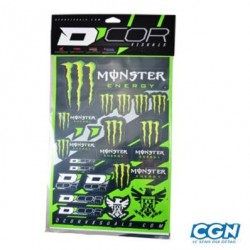 AUTOCOLLANTS MONSTER ENERGY 50X28