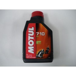 HUILE MOTUL 2T 100% SYNTHESE 1L