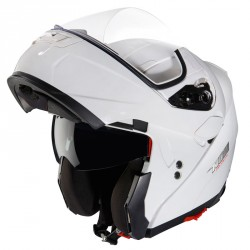 CASQUE MODULABLE NOX N964 BLANC BRILLANT