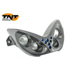 DOUBLE OPTIQUE + LEDS TNT CARBONE NITRO