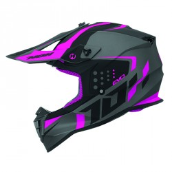 CASQUE CROSS NOX N633 EVO ROSE