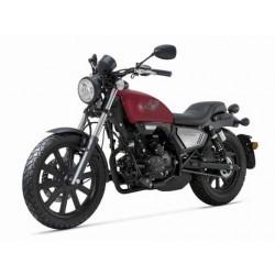 MOTO 125CC KEEWAY KLIGHT ROUGE