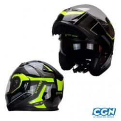 CASQUE MODULABLE TRENDY STRIKER JAUNE