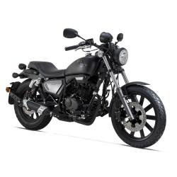MOTO 125CC KEEWAY KLIGHT NOIR MAT