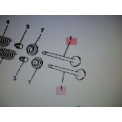 SOUPAPE ADMISSION SKYCRUISER 125cc