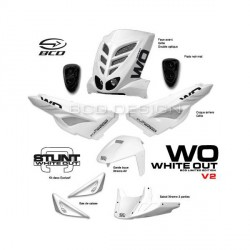 PACK CARENAGES BCD STUNT WHITE OUT V1